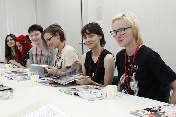 ロシア美人たちがNT編集部訪問!ロシアで人気のアニメ作品は?