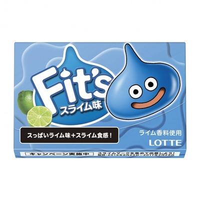 思わず2度見!スライムのフレーバーや食感を想像しながら食べてみて「Fit's<スライム味>」(想定小売価格・税抜130円前後)