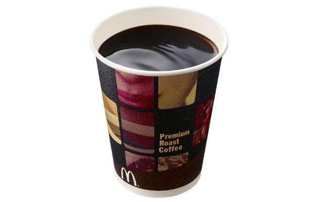 マクドナルドで無料提供されたプレミアムローストコーヒー
