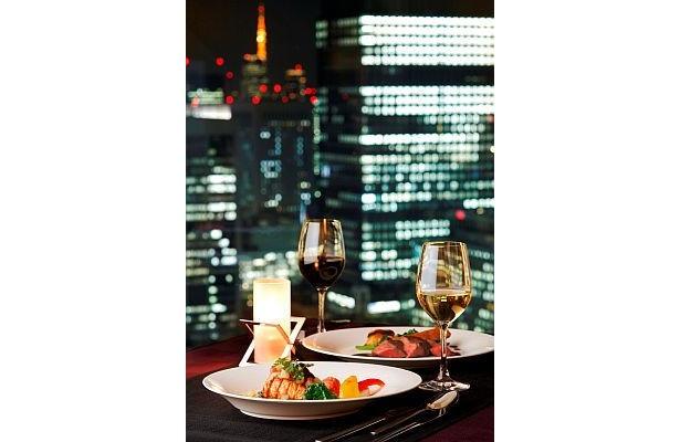 東京の美しい夜景を見ながらディナーはいかが?(ホテルメトロポリタン丸の内)