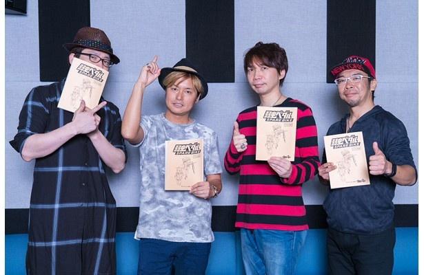 「弱虫ペダル SPARE BIKE」の先行カット&キャラ設定画が公開。巻島役森久保祥太郎のコメントも到着!