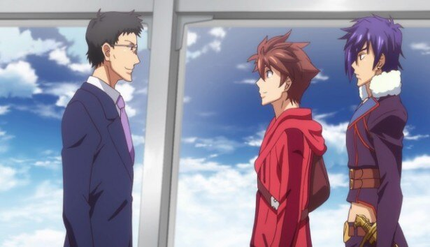 TVアニメ「エンドライド」第19話の先行カット到着!瞬は地上に戻り、母と再会するが…
