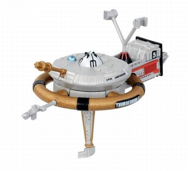 架空の原子力有人宇宙ステーション「クラシック版 サンダーバード5号」