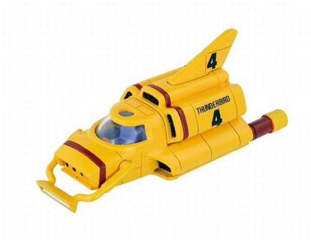 四男ゴードン・トレーシーが操る架空の原子力潜航艇「クラシック版 サンダーバード4号」(税抜800円)