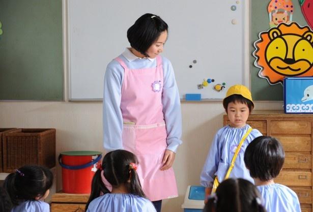 幼稚園デビューをしたハジメ(横山歩)