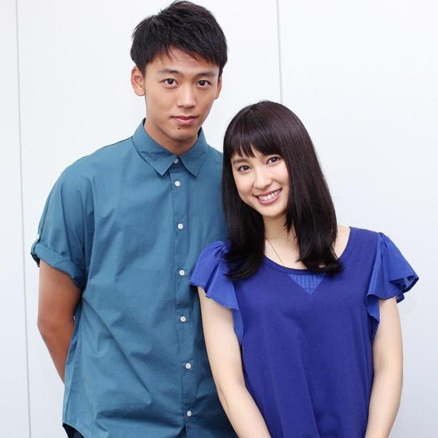 『青空エール』に出演した土屋太鳳と竹内涼真にインタビュー