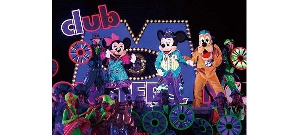 ミッキー&ミニーも遊びに来る、クラブ・モンスターズ・インクは大盛り上がり!