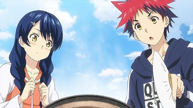 TVアニメ「食戟のソーマ 弐ノ皿」第8話先行カットが到着。サンマをめぐるハンディへの一手とは
