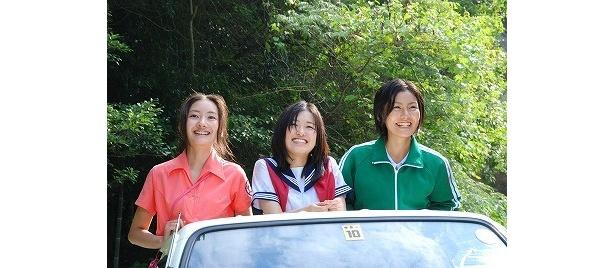 大後寿々花、波瑠、高山侑子の3人が織りなす、みずみずしい青春時代の1シーン