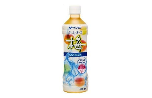 こちらも夏向け!6月に発売された「清涼果実 梅COOLER」