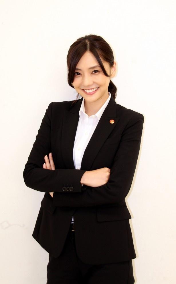 「刑事7人」で水田環を演じる倉科カナ
