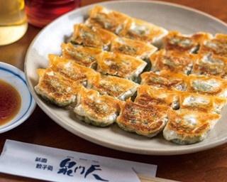 パンチがありながらさわやかなあと味の「京風和風餃子~白味噌チーズだれ~(6個)」(税別450円)/GYOZA OHSHO烏丸御池店