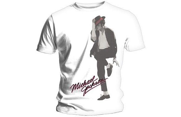 【他のTシャツ画像】プリントされたマイケルがクール!「Dancer at Large」