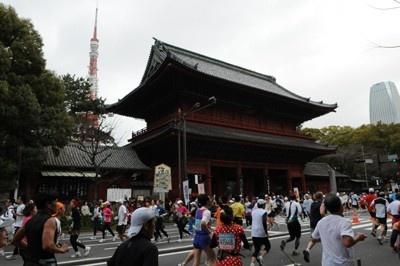 東京の名所を走って巡ろう