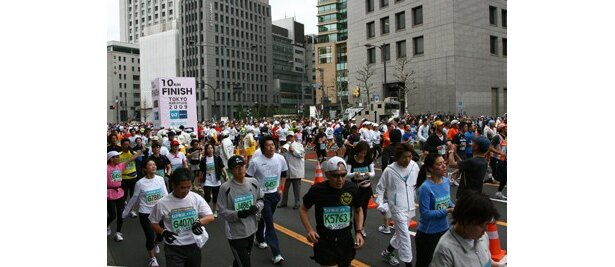 今回も多数の応募が予想される「東京マラソン2010」