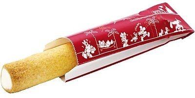 今夏初登場のクール・ティポトルタ(キャラメルカスタード¥350)は、東京ディズニーランドのビレッジペイストリーにて販売