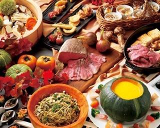9月~11月は「秋の地中海バイキング」が登場。魚介類や野菜、穀物、果物などをバランスよく食べられる/京都ロイヤルホテル&スパ プランディア カフェ&レストラン