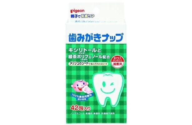 こちらは子供向けの歯みがきシート「歯みがきナップ」
