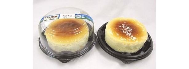 北海道産のクリームチーズを使用した濃厚な味わい「チーズスフレ」(270円・沖縄以外の店舗で販売)