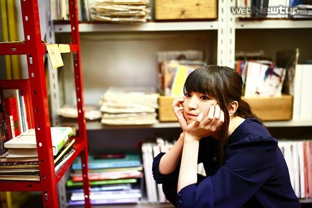 上田麗奈フォトコラム第21回・いろんな色が溢れる書店巡り