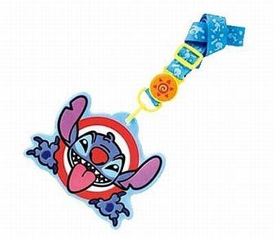 「あっかんべ〜」ポーズのスティッチのファストパスホルダー(¥600)。縦約10.5× 横約13.5cm
