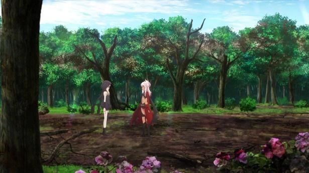 「プリズマ☆イリヤ ドライ!!」第9話先行カットが到着。美遊と世界、選択を迫られるイリヤ