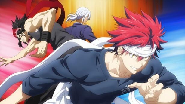 TVアニメ「食戟のソーマ 弐ノ皿」第9話先行カットが到着。決勝戦がいよいよ開幕!