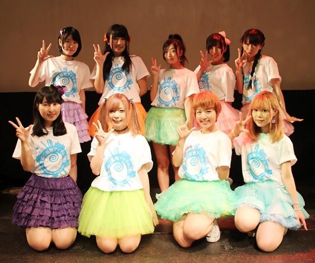 茨城ご当地アイドル(仮)が結成され、水戸ご当地アイドル(仮)のライブでお披露目