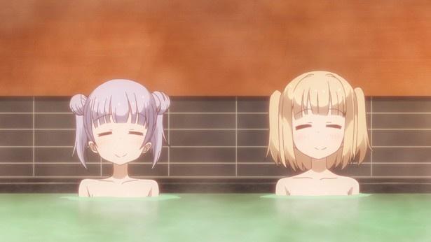 TVアニメ「NEW GAME!」第9話先行カットが到着。パンツの有り無しでイーグルジャンプが揺れる!