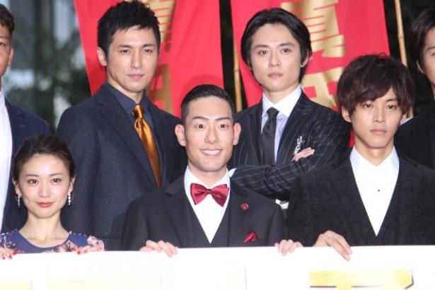 『真田十勇士』のレッドカーペットセレモニーが開催