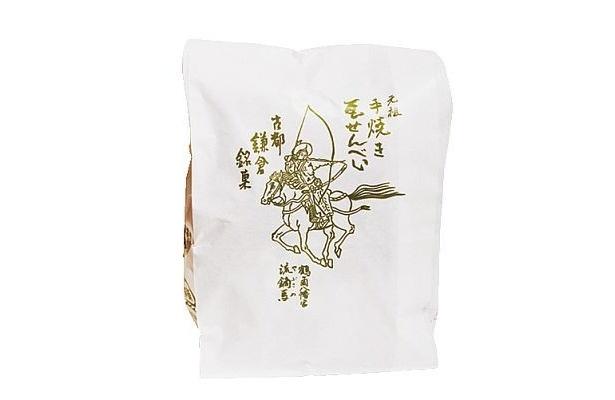 90年もの歴史がある和菓子店らしい「大仏まんじゅう」のパッケージ