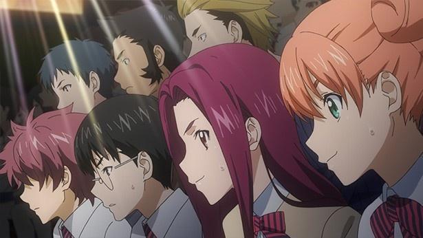 TVアニメ「食戟のソーマ 弐ノ皿」第10話先行カットが到着。サンマ勝負はついに佳境へ