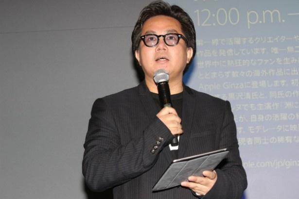 モデレーターを務めた映画評論家の松崎健夫