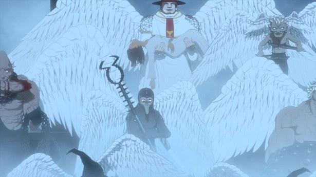 アニメ「ベルセルク」第9話の場面カットが到着。キャスカの元へ急ぐガッツの前に現れたのは