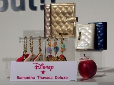 「Samantha Thavasa Deluxe」より、キルティング小物シリーズと、チャームラインナップ