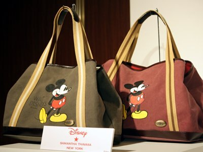 「Samantha Thavasa NEW YORK」より、Mickey トートバッグ