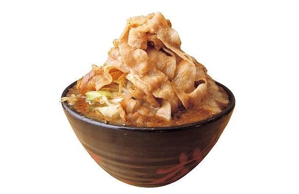食べきれないと落武者にされる「麺屋 武士道」の『武士道 誠黒醤油全男盛』