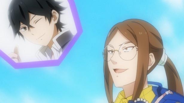TVアニメ「はんだくん」第10話先行カットが到着。半田が美少女絵画クラブに狙われる…