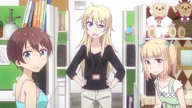 TVアニメ「NEW GAME!」第10話カットが到着。イーグルジャンプにできたドーナツの山!