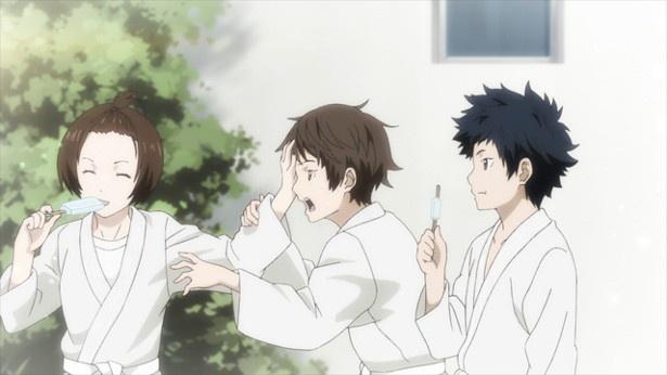 TVアニメ「チア男子!!」第9話場面カットが到着。涙を流して告白するカズにハルは…