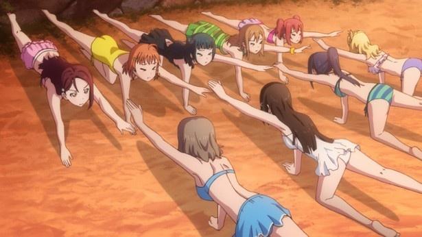TVアニメ「ラブライブ!サンシャイン!!」第10話場面カットが到着。海の家で奮闘する千歌たち