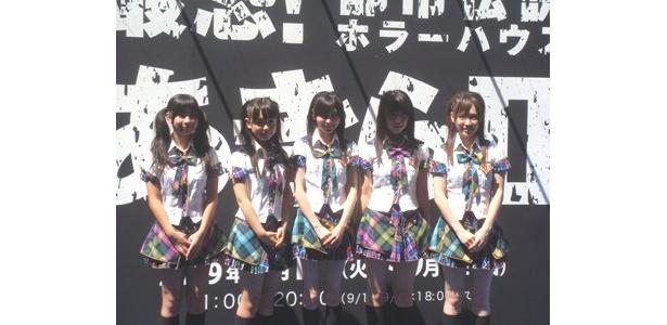 オープニングイベントにはSKE48が登場