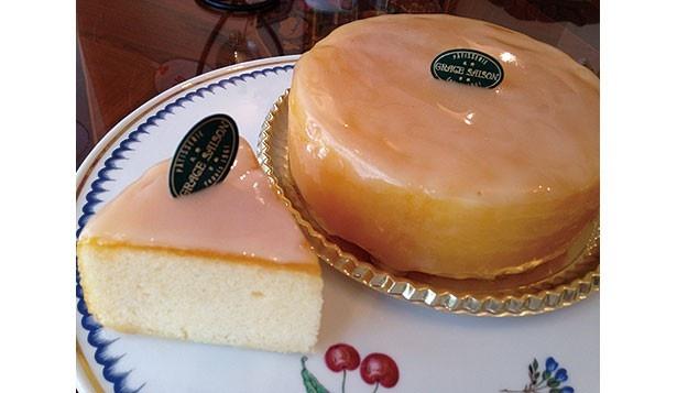 「ガトーシトロン」(400円)などヨーロッパの伝統をベースにした京らしい洋菓子が人気!/GRACE SAISON