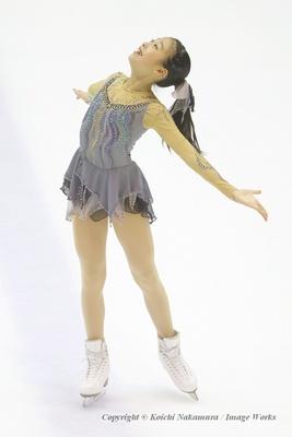 2種類のトリプル+トリプルを成功させ、会心の演技を披露した滝野莉子