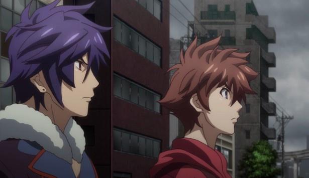 TVアニメ「エンドライド」第21話の先行カット到着!瞬のため、エミリオは浅永の元へ