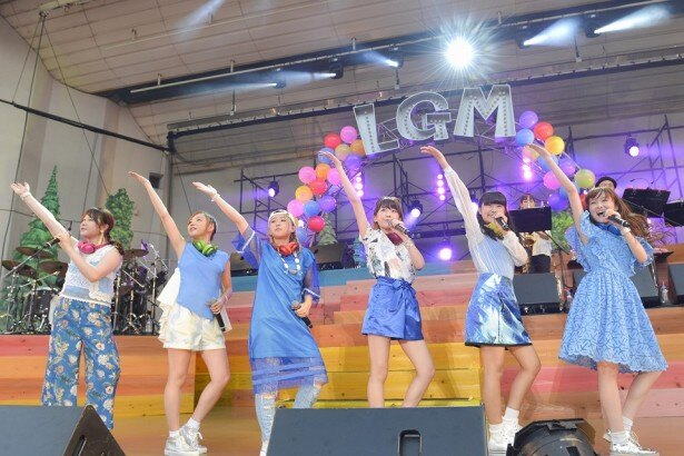 Little Glee Monsterが大阪城野外音楽堂にて「Little Glee Monster presents ガオフェス2016~リトグリサマーキャンプ~」ファイナル公演を開催した