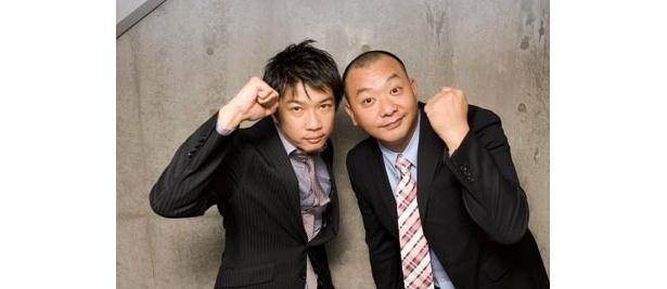木本武宏(左)・木下隆行(右)