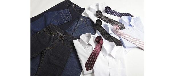 シャツ、ネクタイ…これもぜ〜んぶ880円!