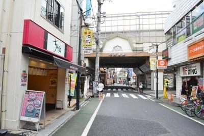 「中村橋駅」を降りたところに、サンツ中村橋商店街がある