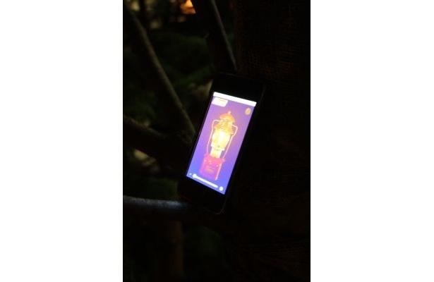 「Coleman Lantern」はライトの強さを調整できる